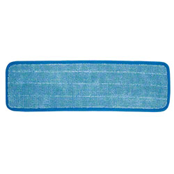 "Wilen® Super Pro II™ Microfiber Refill - 5"" x 18"", Blue"