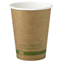 World Centric Kraft Paper Hot Cup - 12 oz.