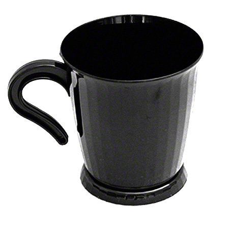 Edris Divine Coffee Mug - 8 oz., Black
