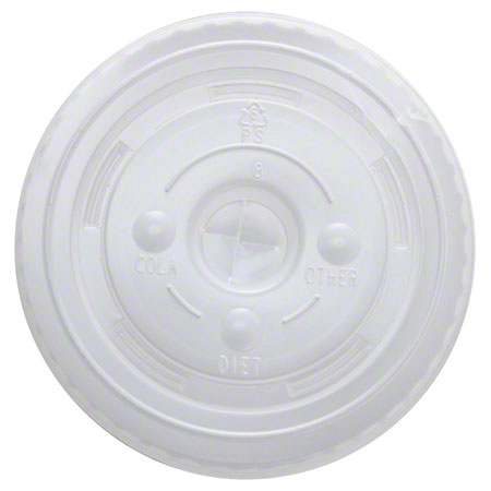 Karat® PET Flat Lid For 12 to 22 oz. Paper Cold Cup