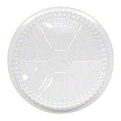 """Karat® OPS Dome Lid for Foil Containers - 7"""""""
