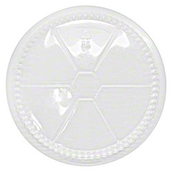 """Karat® OPS Dome Lid for Foil Containers - 8"""""""