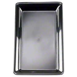 "EMI Yoshi Party Tray Rectangle Tray - 12"" x 18"", Black"