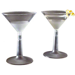 EMI Yoshi Resposables™ 2 Piece Martini Glass - 6 oz.