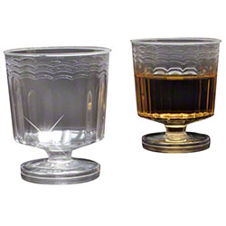 EMI Yoshi Resposables™ Clear Wine Glasses