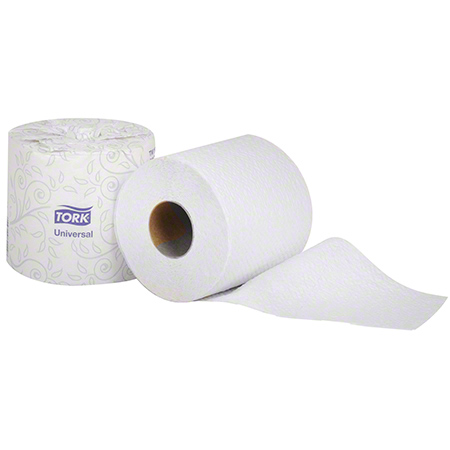 Tork® Universal Quality 2 Ply Roll Bath Tissue - White