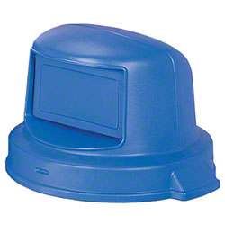 Continental Dome Top For 44 Gallon Huskee - Blue