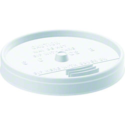 Dart® White Sip Thru® Lid For 10, 12, 14 oz.