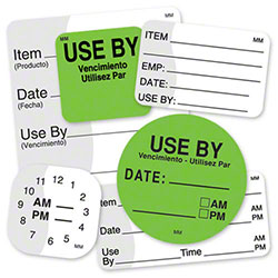"DayMark® MoveMark™ Item Date Use By Label - 2"" x 2"""