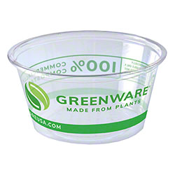 Fabri-Kal® Greenware® Stock Print Portion Cup - 2 oz.
