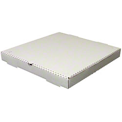 Mono White/Mono White Pizza Box - 10x10x1.75