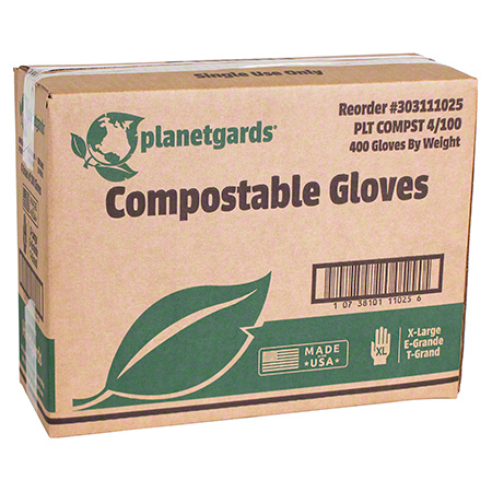 Handgards® Planetgards® Compostable Glove - One Size