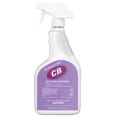 Intercon™ Clearly Better No Rinse Sanitizer - 32 oz.