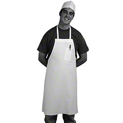 "Johnson-Rose™ Poly/Cotton Bib Apron - 35"" x 39"""
