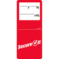 "NCCO SecureIt™ 2.5"" x 6"" Permanent Tamper Evident Label"