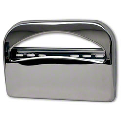 Palmer Toilet Seat Cover Dispenser - Brushed Chrome