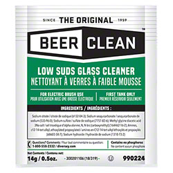 Diversey™ Beer Clean® Low Suds Glass Cleaner - 0.5 oz.