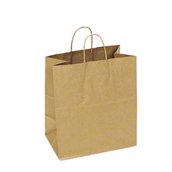 "TULSACK Brown Shopping Bag - 14.5"" x 9"" x 16.25"""