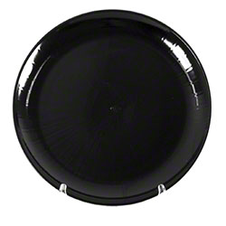 "WNA Caterline® Catering Tray - 18"" Round, Black"