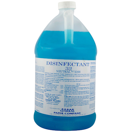 General Paper Neutral Fresh 32 Disinfectant - Gal.