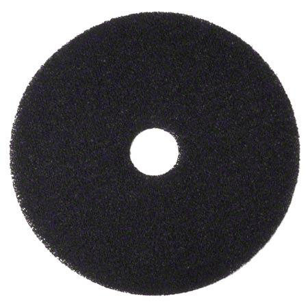 """3M™ 7200 Black Stripper Pad - 18"""""""