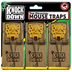 Knock Down™ The Original™ Mouse Trap w/Cheese Pedal