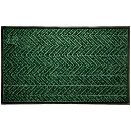 M + A Matting Waterhog® Eco Elite Classic-4'x5', Bk Smoke