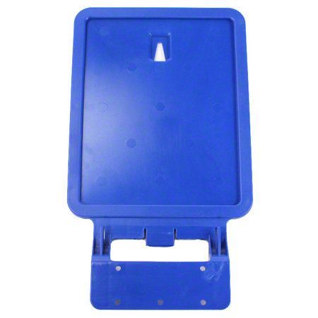 Busch Waste Watcher XL Clip-In Sign Frame - Royal Blue