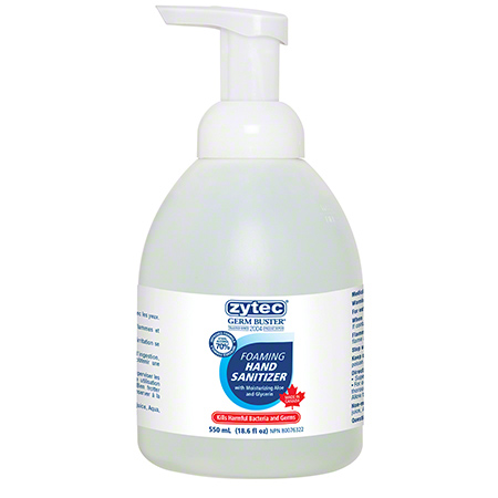 Zytec® Germ Buster® Foaming Hand Sanitizer - 550 mL