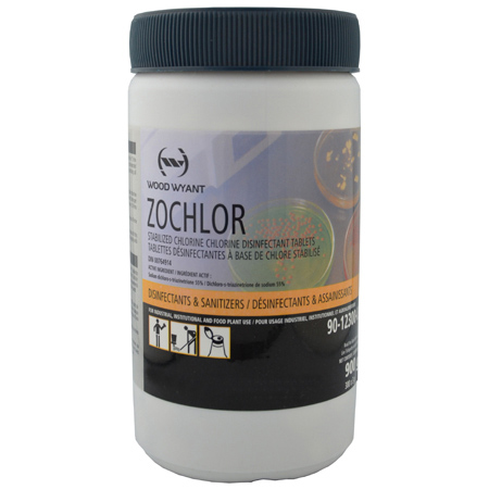 Zochlor Chlorine Disinfecting Tablets