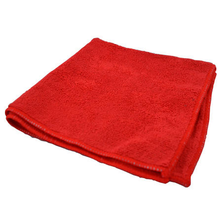 Premium Microfiber Cloth - Red