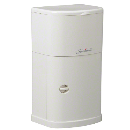 Janibell® M250HW Under Cabinet Trash Can - 4 Gal., White