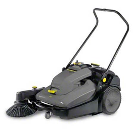 Karcher® KM 70/30C Battery-Powered Vacuum Sweeper - 28""