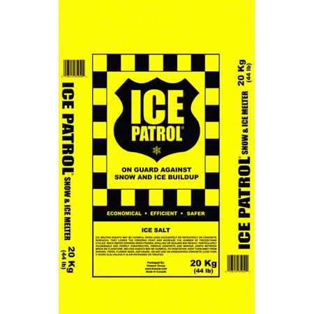 Kissner Ice Patrol Rock Salt - 20 Kg Bag