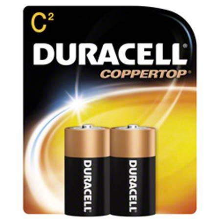 Duracell® CopperTop Battery - C Size