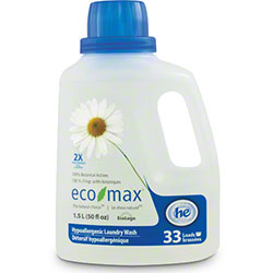 Eco-Max® 2x Concentrate Hypoallergenic Laundry Wash