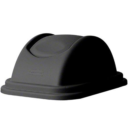 Rubbermaid® Untouchable® Top Fits 2956 Container - Black