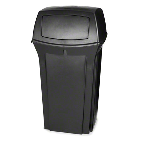 Rubbermaid® Ranger® Container - 35 Gal., Black
