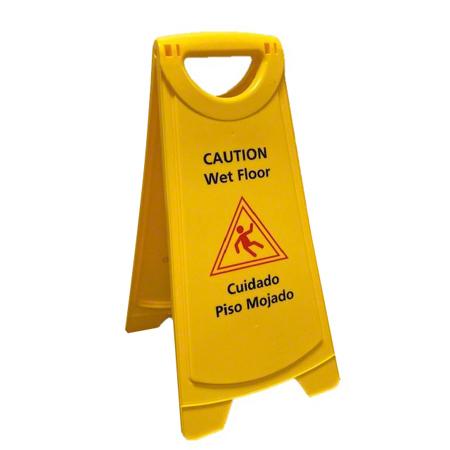 """Better Brush 25"""" Tall Wet Floor Sign"""