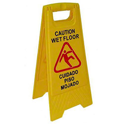 "Better Brush 25"" Tall Wet Floor Sign"