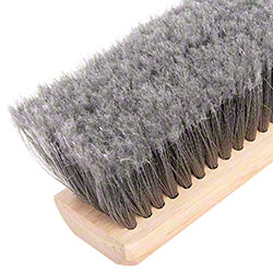 "Flo-Pac® Gray Flagged Polypropylene Sweep - 24"", Gray"
