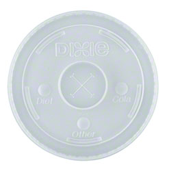Dixie® Long-Skirt Selector Lid For 12/16/21 oz.
