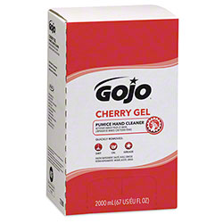 GOJO® Cherry Gel Pumice Hand Cleaner - 2000 mL