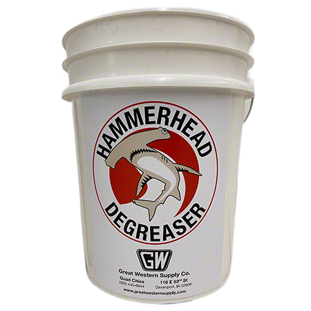 Great Western Hammerhead Degreaser - 5 Gal.