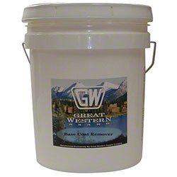 Great Western Brand Base Coat Remover - 5 Gal.