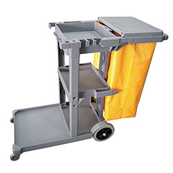 Microfiber & More Maid Cart w/Nylon Bag