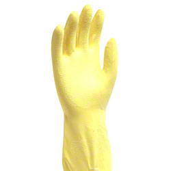 Flock Lined Latex Glove - Extra Large