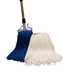 "PRO-LINK® MicroTwist Mop - Medium, 1.25"", Blue"