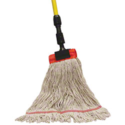 PRO-LINK® Standard Loop End Wet Mop - Small, White