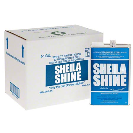 Sheila Shine Stainless Steel Cleaner/Polish - Gal.